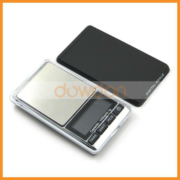 High Precision Digital Pocket Scale 1000g Factory Supplying for Hot Sale