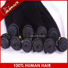 Hair extension manufacturing base in Xuchang, silky straight Malaysian human hair extension