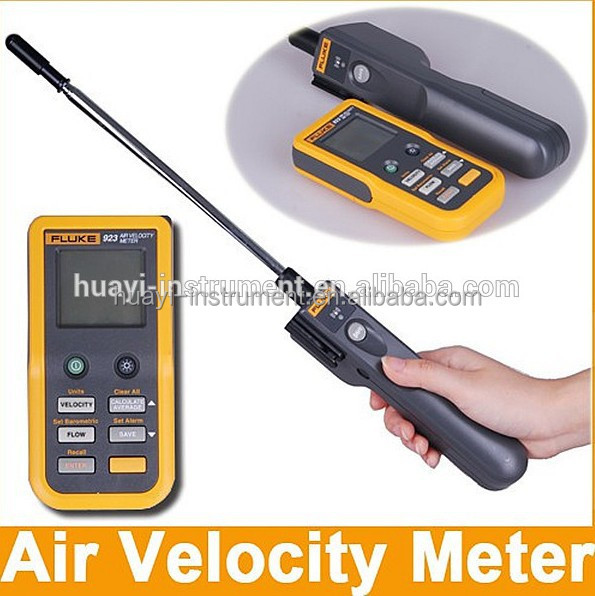 Temperature Detection Air Velocity Meter Wind Speed Meter Fluke 923