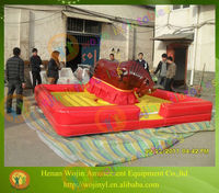Hot sale inflatable mechanical bull riding for sale
