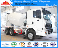 SINOTRUK 6*4 wheelers 10 cubic meters concrete mixer truck