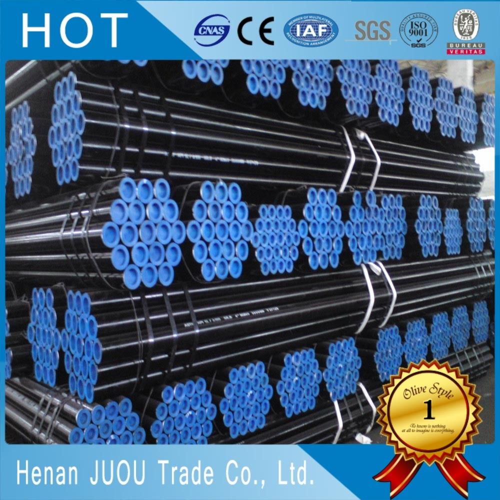Hot rolled seamless steel thick wall pipe for mechanical and general engineering