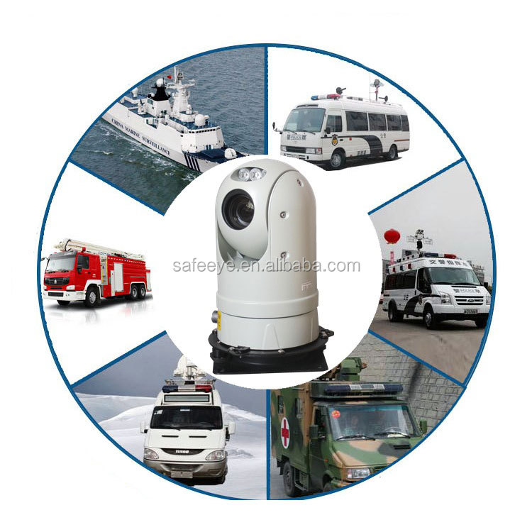 Policeman Car DVR PTZ Camera IR Night Vision mounted Waterproof dome Camera
