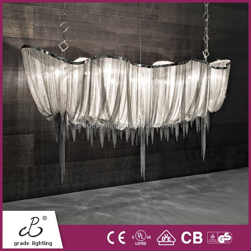 2015 Hot Sales Hanging Light with Satin Nickel Pendant Lamp