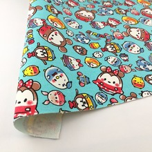 Popular Customized elephant print fabric and dog print fleece fabric and jaipur block print fabric