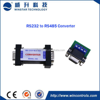 High quality factory price Bi-directional RS232 serial port to RS485 connector with terminal block for access control system