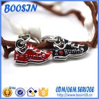 2016 Custom Zinc Alloy Running Sneaker Charm, Shoe charm for jewelry