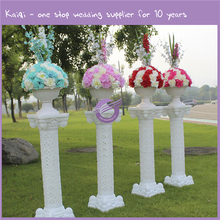 K7732 Kaiqi Outdoor wedding party decoration stone flower walkway stand