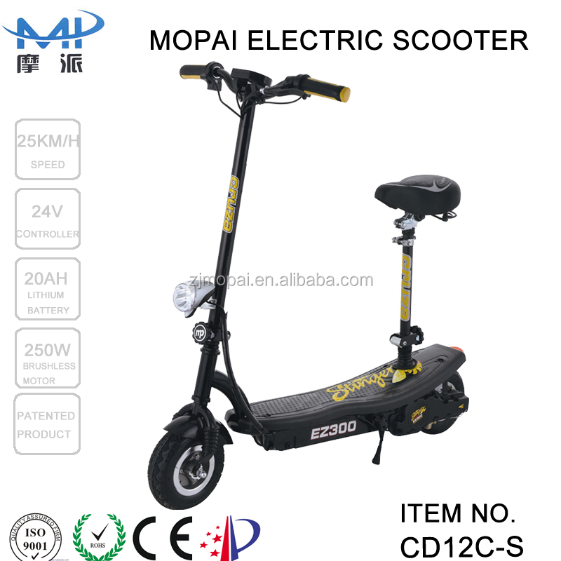 Easy rider big lithium battery brushless 2 wheel electric scooter made in china