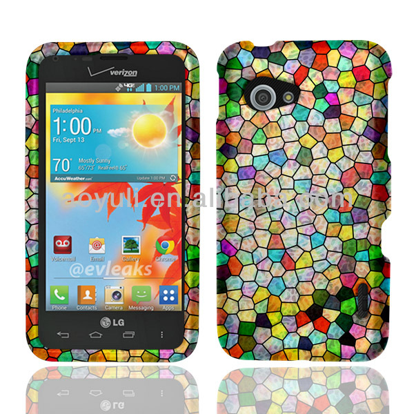multicolored image phone case for LG Enact VS890, phone accessories made in china