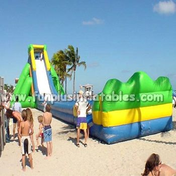 Hot sale Inflatable Slide Fun City For Manufacturers F4150