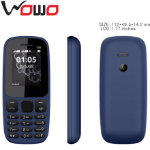 New Original Cheap Bar Phone Colorful Dual SIM Mobile Phone 1.77inch Slim Mobile with Whatsapp