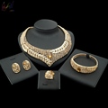 Indian Bridal Kangan Set Dubai 18k Gold Filled Jewelry Brazilian Gold Jewelry Wholesale