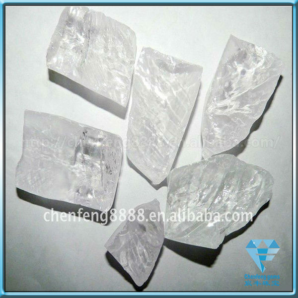 synthetic white color corundum rough