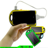 portable solar charger for mobile phone with high efficient solar panel ,solar power charger
