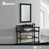 American hotel style cabinets with bathroom sink and faucet S-1502D