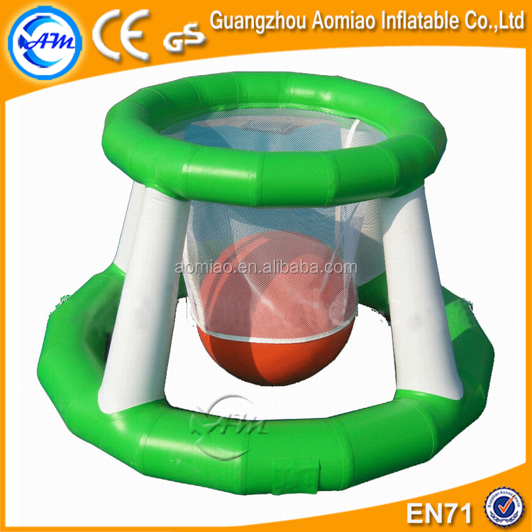 Inflatable Aqua Park Sports, Inflatable Water Basketball Shot Games Products