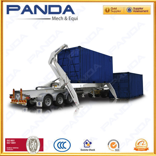 Panda side loading trailer, side lift for 40ft 20ft container