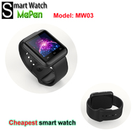 2015 hot selling men watches MaPan MW03 cheap price smart watch for android mobile phones