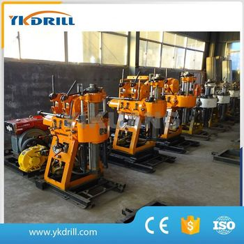 China 100m portable hydraulic water well drilling machine for sale