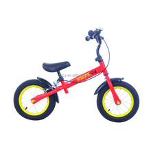 latest 2017 shanghai fair Steel frame Material balance bike for kid / balance bike