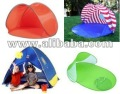 pop up beach tent, pop up tent , zip up tent, foldable tent