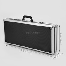 Large Hard Pedal Board Case Guitar Effects Travel Road Flight Carry Box Lockable