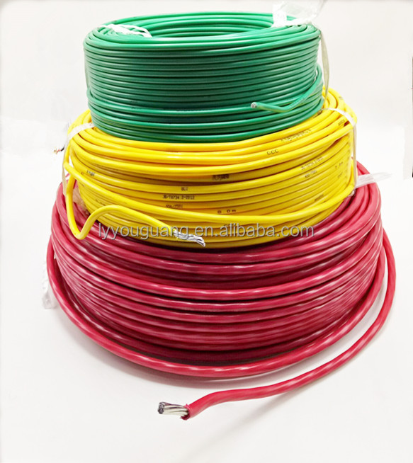 single core Aluminum conductor electric wire with PVC insulator