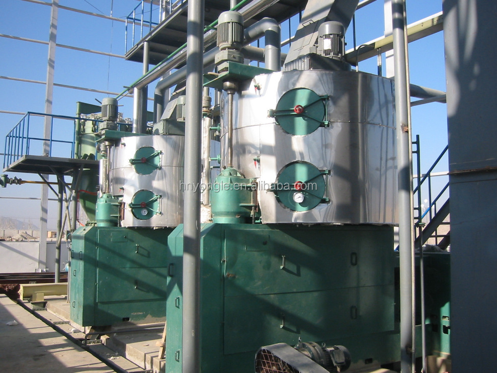Oil mill plants Soybean oil solvent extraction cooking oil making production line