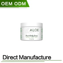 Organic Aloe Face & Body Moisturizer Cream
