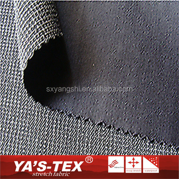 Wholesale Knitted Polyester Stretch Jacquard Bonded Breathable Fabric Waterproof Softshell Elastic Fabric For Clothing