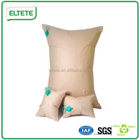 Inflatable truck dunnage bag with valve