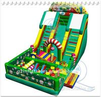 Qing Ling 2011new design funny inflatable playground