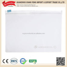EN71 approval clear pillow case plastic packaging pouch