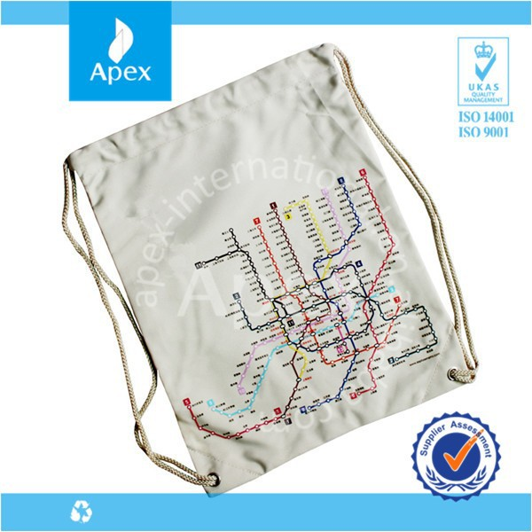 map printed map printed description of traveling bag