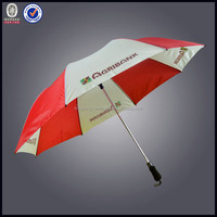 Big folding clear umbrella for hotel promotion gift to customer 2015
