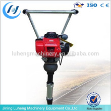 Railway gasoline tamping pick machine