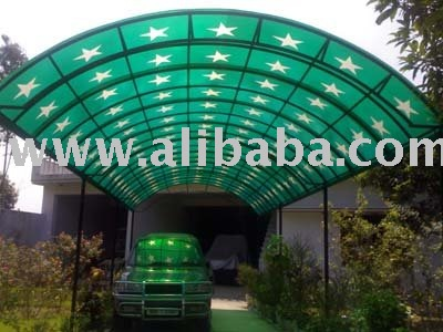 Fiberglass Sheds, Car Porch, Canopies