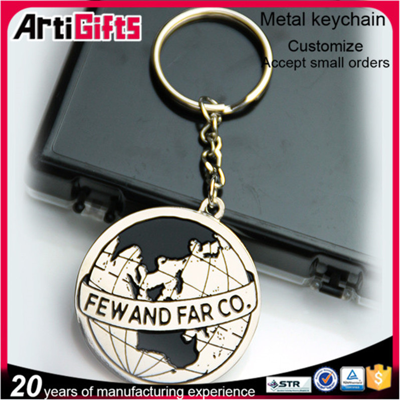 3D design fashion keychain promotion gifts