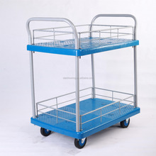 150 kg 2 layer kitchen trolley prices double-deck kitchen trolley cart