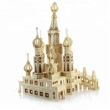 Wholesale New Design and High Quality Children Educational and Practical World Famous Building 3d Puzzle