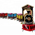 Outdoor/Indoor Children Funfair Games Electric Mini Train for Kids Play
