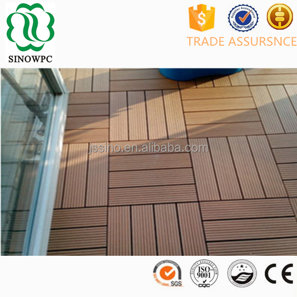 Easy installation family use best diy wpc wood laminate flooring brands for outdoor