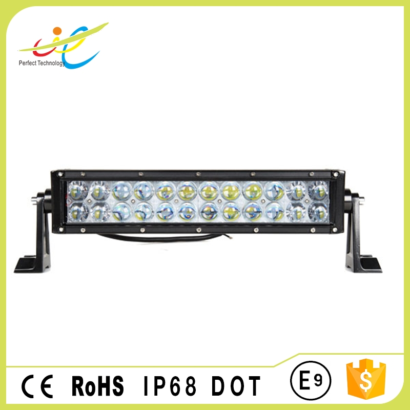IP 68 waterproof rating 120w 22 inch two row light bar for truck offroad police heavy-duty vehicles