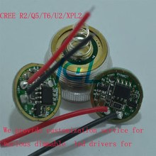 High Quality Flashlight Driver Circuit Board For 5-mode Xm-l T6 Led