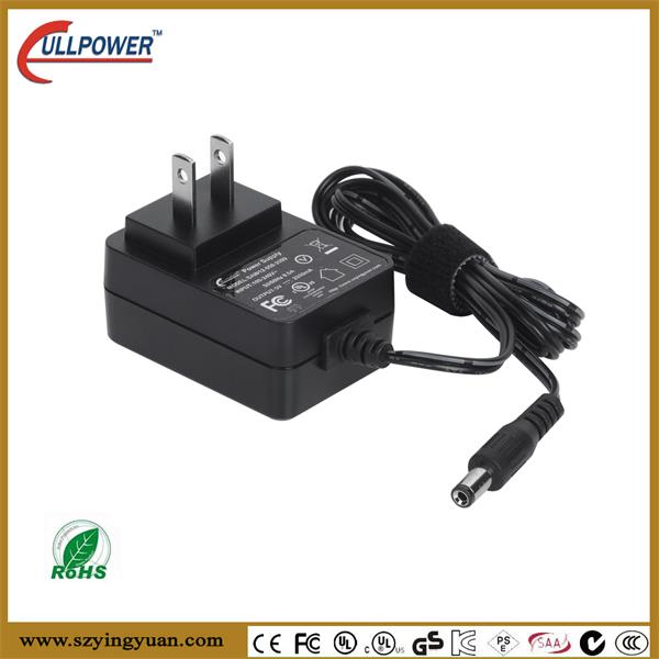 DC 12V 12 Watt Wall Adapter Power Supply 2.1mm 5.5mm 1.8m Long cable 1a 1000ma UL Listed