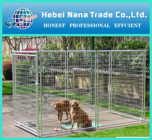 Large wire mesh dog kennel / Metal dog cage with factory price