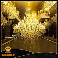 Modern famous design hot sale metal chandelier lighting aluminium products