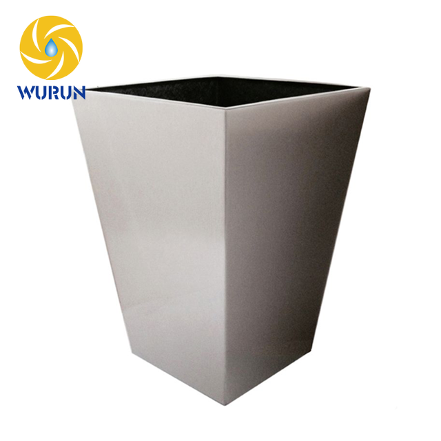 Beautiful Decorative Stainless Steel Metal Planter Boxes Plant Containers