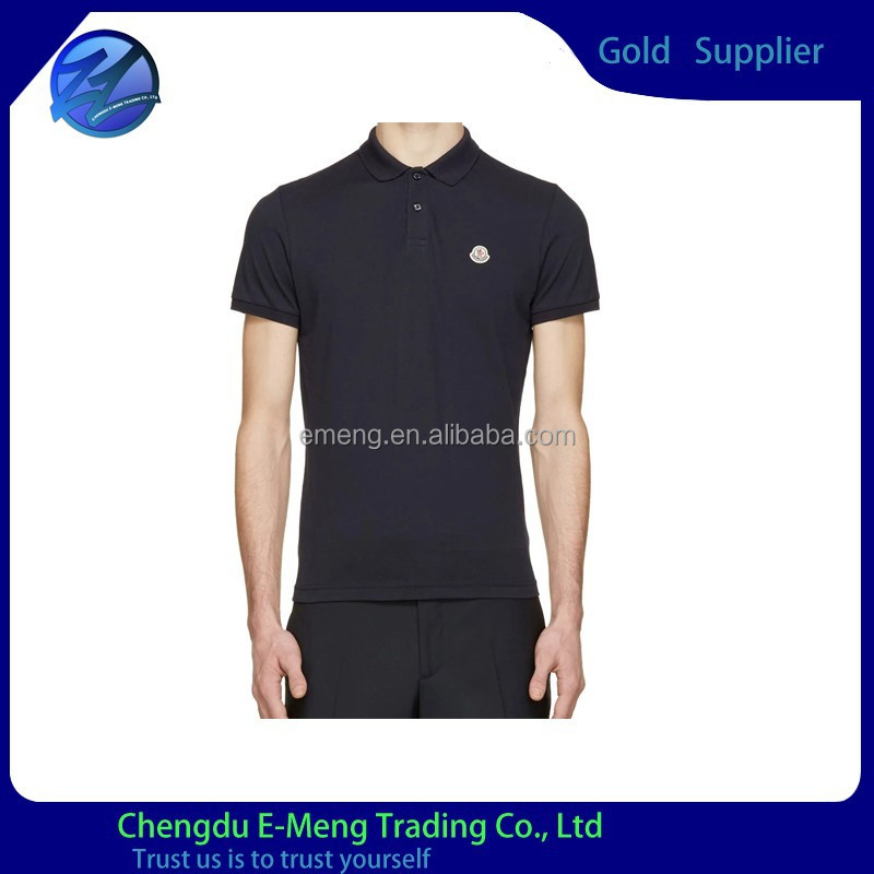 Good Quality 100% Cotton Embroidery Logo Custom Brand Tag Polo Shirt